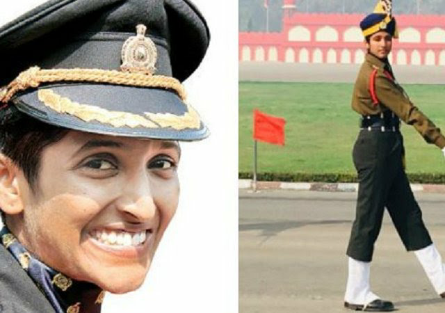 Lt.Bhavana Kasturi First lady Officer to lead Male Contingent At The 71st Army Day Parade