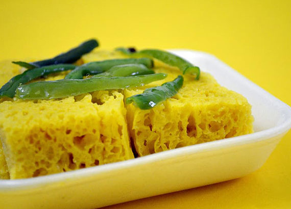 A DHOKLA CAKE- A Lockdown Birthday